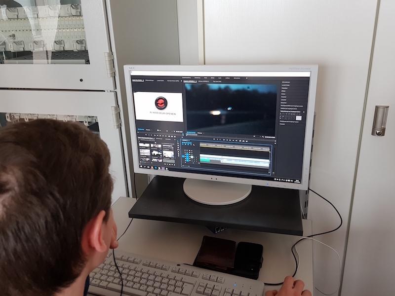 Videobearbeitung im BK