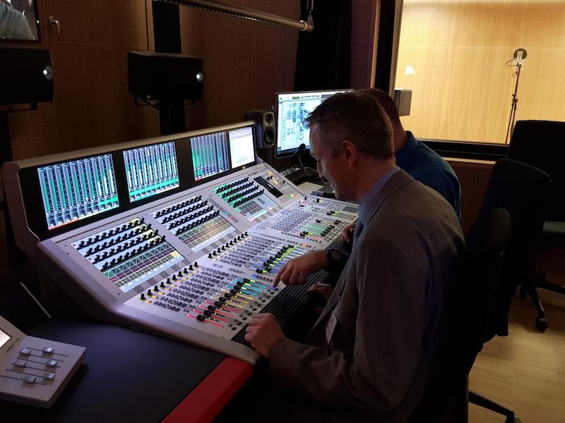 Tonstudio der Medienabteilung