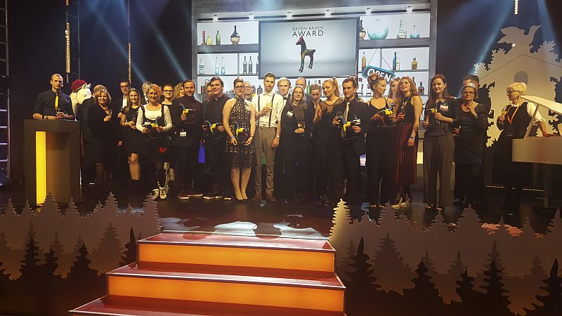 Alle Teilnehmer der Preisverleihung des Baden-Baden-Awards