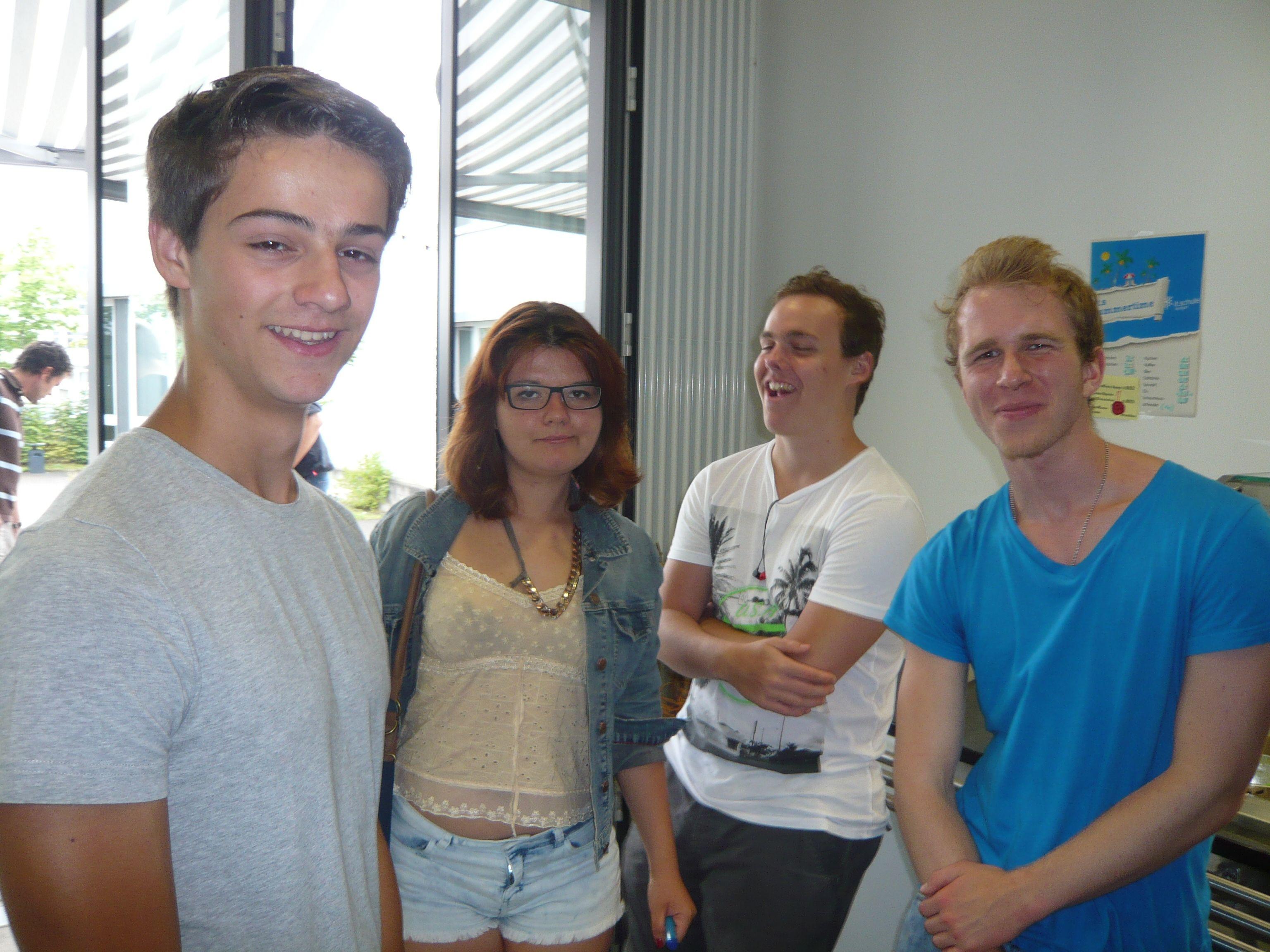 Schüler aus J1