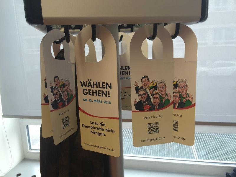 Hausmesse 2016 Wahlaufforderung