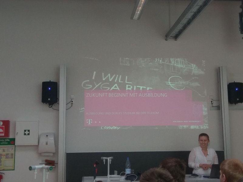 Hausmesse 2018 - Vortrag von Telekom