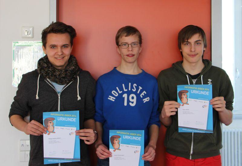 Preisträger Informatik-Biber 2014
