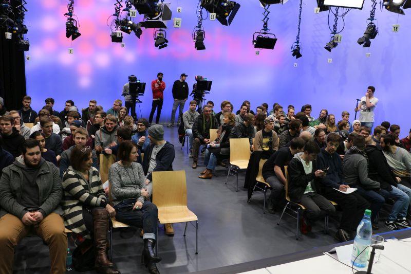 Blick ins Publikum bei Aras-Veranstaltung