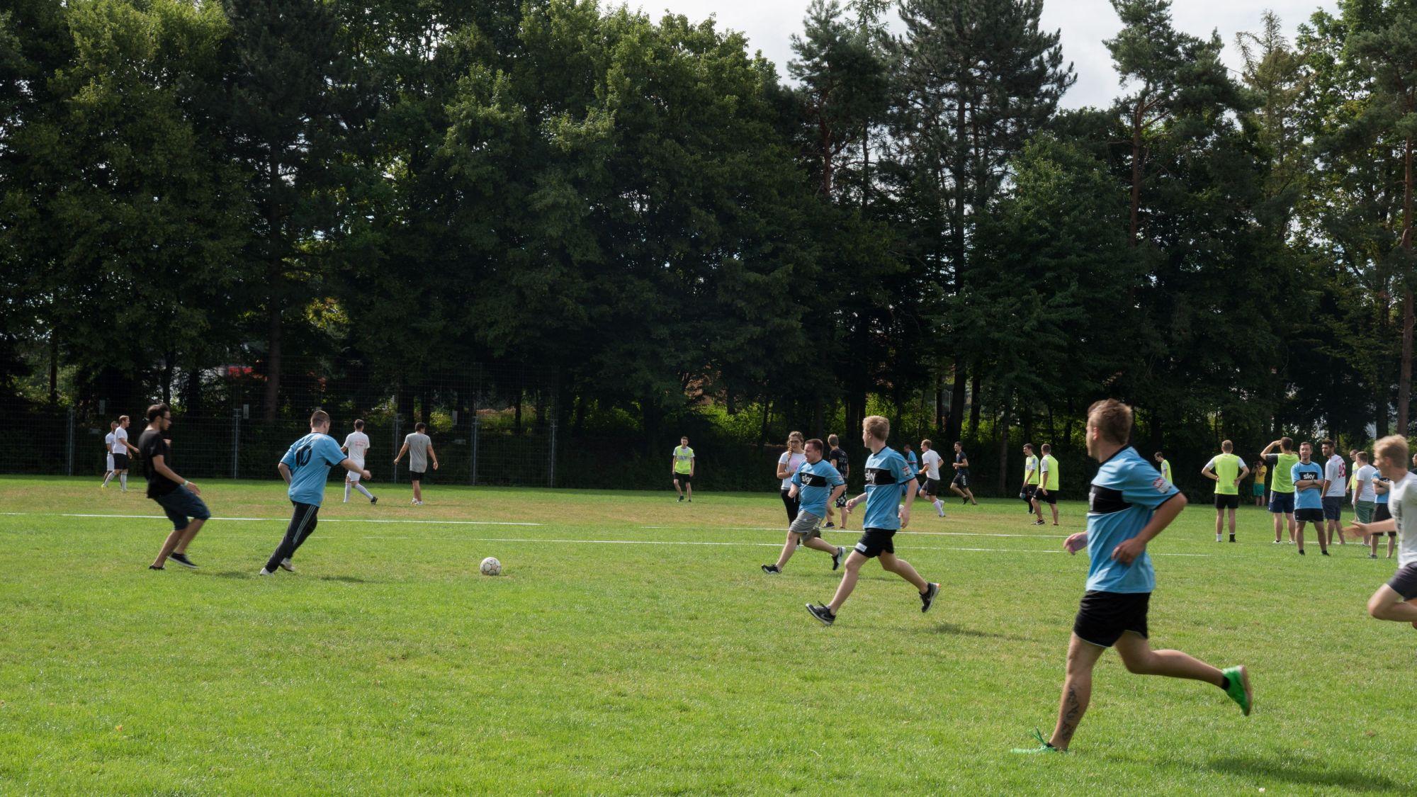 Fußball Match