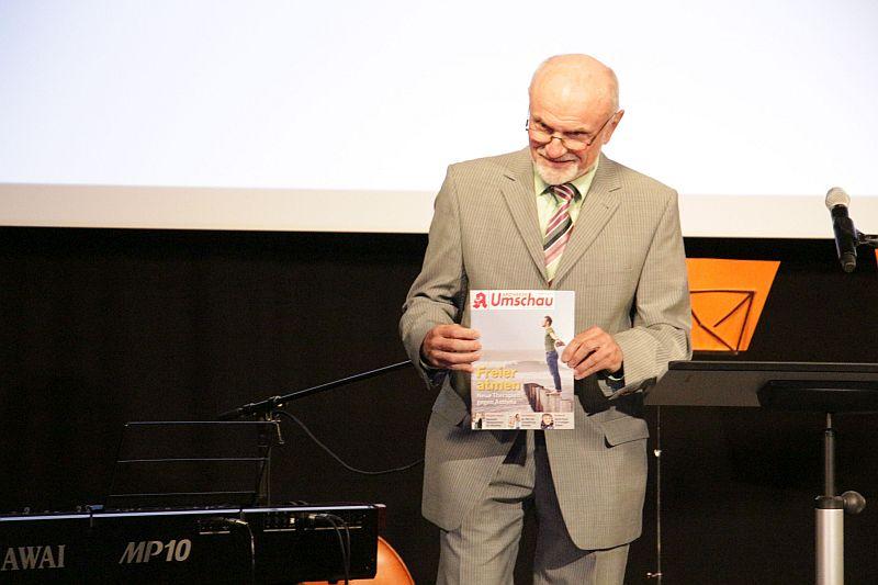 Helmut Brenner mit der Apothekenrundschau