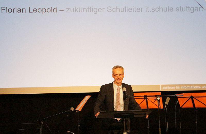 Herr Leopold spricht