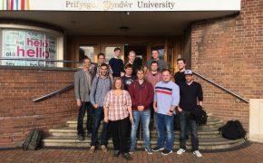 FTI2 besuchen Partner-Uni Glyndŵr University
